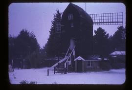 Snow scene , Durrington Mill, High Salvington