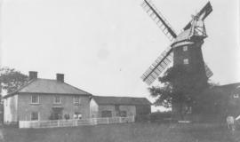 Tower mill at Sporle with Palgrave