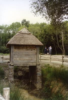 Photograph of a horizontal watermill, Ferrycarrig, Wexford, Ireland