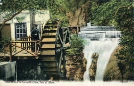 The Water Wheel in Groudle Glen, Isle of Man.