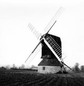 Outside view of Stevington Mill, Bedfordshire