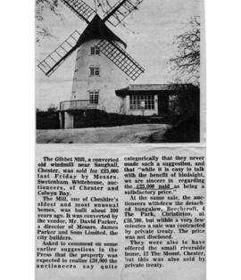 Sale of Gibbet Mill