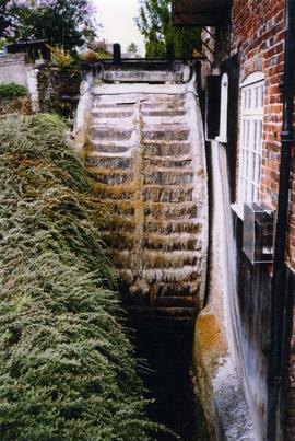 Waterwheel, Stanley's Mill, Temple Ewell and River