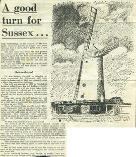 """A good turn for Sussex..."""