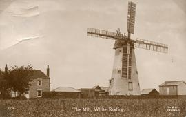 Tower mill, White Roding, in working order