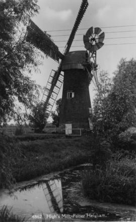 High's Mill, Potter Heigham, in working order