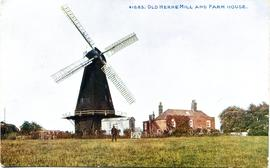 Smock mill, Herne, and farm building