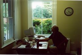 Michael French in Mill Office