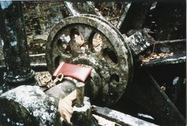 Photograph of machinery at Franklyn Mill, Tobago