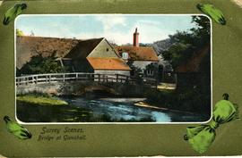 Surrey Scenes, Bridge at Gomshall
