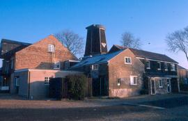 Chesterton Mills and buildings from the road - View 1