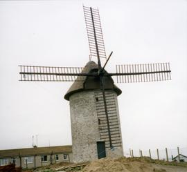 Photograph of a tower mill, Skerries, Dublin, Ireland