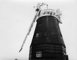 Willingham Cattell's Mill at work, Cambridgeshire