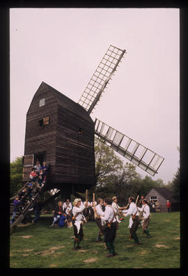 Morris dancers, post mill, Nutley