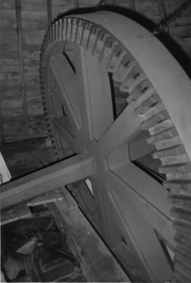 Ellis' Mill (with Subscription Mill) Windshaft and brake wheel 2