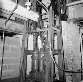 Interior showing brewing machinery, Old Brewery Mill, Bridport