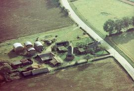 Aerial Photograph, Upthorpe Road Mill, Stanton
