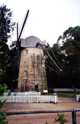 Photograph of Old Sydney Town windmill, Somersby, Australia
