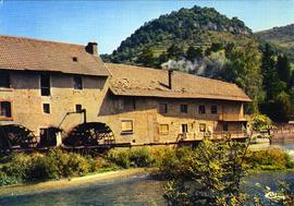 Postcard of Vuillafans Watermill, France