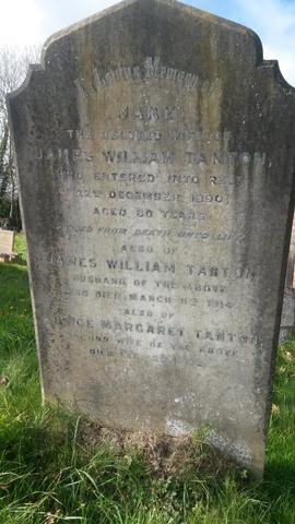 Grave of James Tanton
