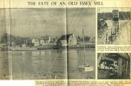 """The fate of an old Essex mill"""