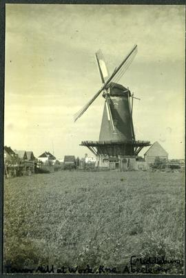 Tower Mill at work , Kne. Abeele near Middelburg