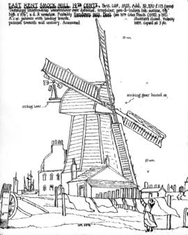 """East Kent Smock Mill"""