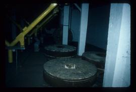 Millstones and modern machinery, Prewett's Mill, Horsham