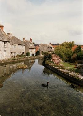 Mill pond , Old Mill, Swanage