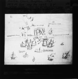 Battle Chart, Brighton, 1545