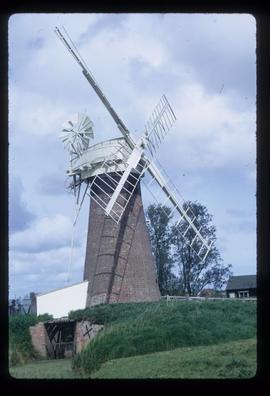 St Benet's Level Mill, Horning, preserved with sails
