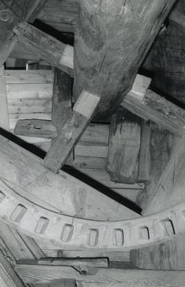 Brakewheel in a toe mill on Alitalo Farm in Masku, Kiveinen, Varsinais-Suomi