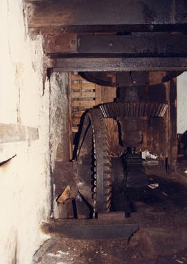 Pit gear, Grimstone Mill, Stratton