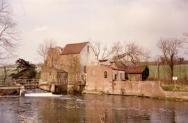Upstream view, Chartham Corn Mill, Chartham, Canterbury
