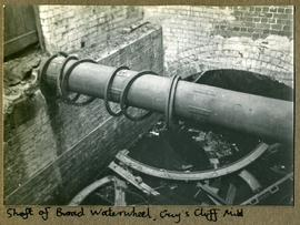 Shaft of Broad Waterwheel, Guy's Cliff Mill