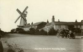 Post Office &Windmill , Stalplecross, Sussex.