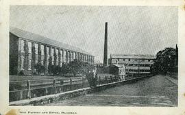 Silk Factory and River, Halstead.