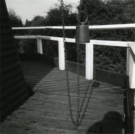 Weight on striking chain, Davison's Mill, Stelling Minnis