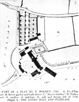 Part of a plan by T. Hogden, Turkey Mill, Boxley
