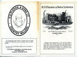 H S Pledge and Sons, Advertisement