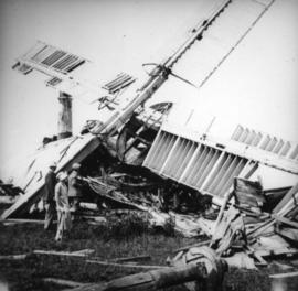 Glyndebourne Mill, Ringmer, collapsed