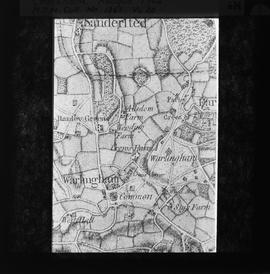 Map of Chelsham, 1762