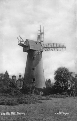 Postcard of the Old Mill, Shirley