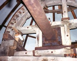 Brake wheel in Heage Tower Mill