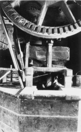 Tail wheel, Mount Ephraim Mill, Ash