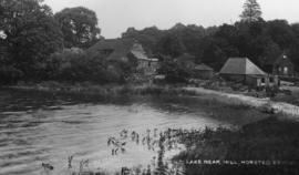 Watermill, Horsted Keynes, across the millpond