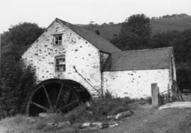 Llanfair Talhaiarn watermill, North Wales