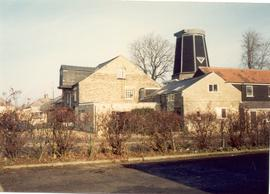 Chesterton Mills and buildings from the road - View 2