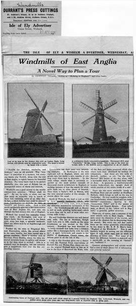 """Windmills of East Anglia"""