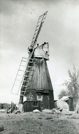 Shade Mill, Soham, derelict